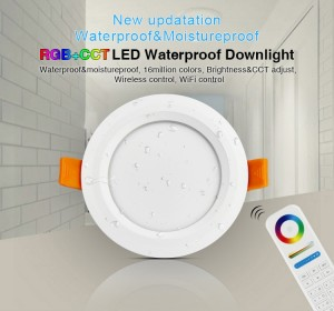 6W RGB+CCT Waterproof LED Downlight